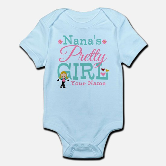 Personalized Nana's Pretty Girl Infant Bodysuit