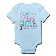 Personalized Nana's Pretty Girl Onesie