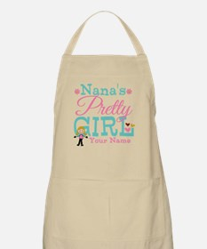 Personalized Nana's Pretty Girl Apron