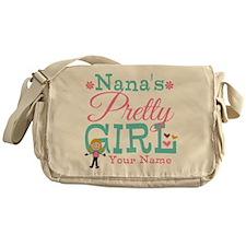 Personalized Nana's Pretty Girl Messenger Bag