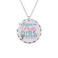 Personalized Nana's Pretty Girl Necklace