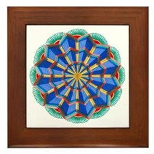 Star Power Mandala #1 Framed Tile