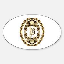 Monogram B Decal