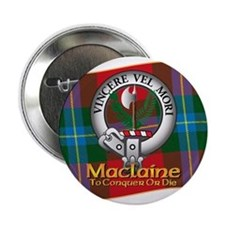 "Maclaine of Lochbuie Clan 2.25"" Button"
