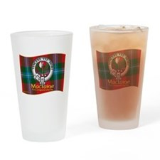 Maclaine of Lochbuie Clan Drinking Glass