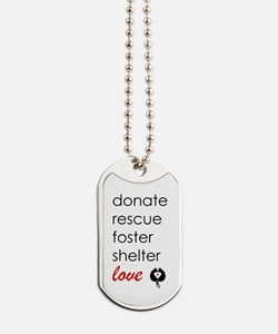 Rescue Dog Tags