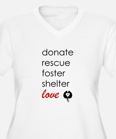 Rescue Plus Size T-Shirt