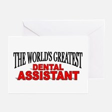 """""""The World's Greatest Dental Assistant"""" Greeting C"""