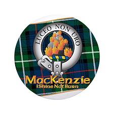 """MacKenzie Clan 3.5"""" Button"""
