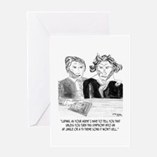 Beethoven's Jingle Greeting Card