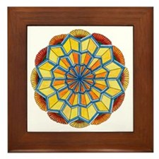 Star Power Mandala #2 Framed Tile