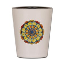 Star Power Mandala #2 Shot Glass