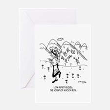 The Sound of a Boom Box Greeting Card
