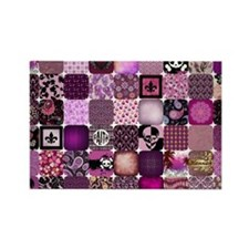 HANNAH'S PATCHWORK Rectangle Magnet (10 pack)
