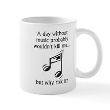 A Day Without Music Mugs