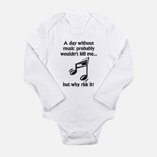 A Day Without Music Body Suit
