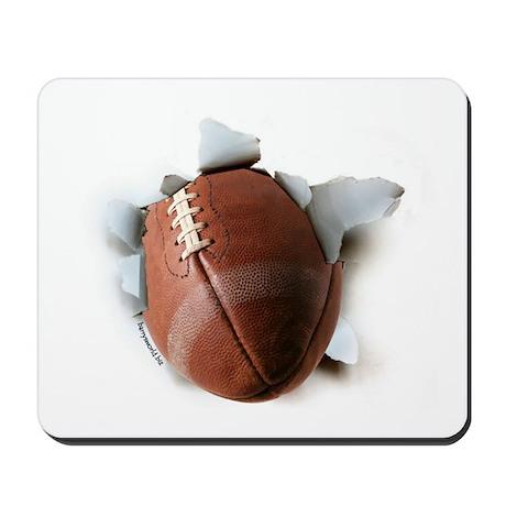 Football Burster Mousepad