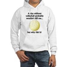 A Day Without Volleyball Jumper Hoody