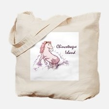 Pink Pony Sketch Tote Bag