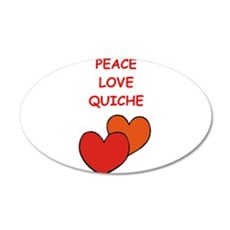 quiche Wall Decal
