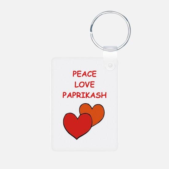 paprikash Keychains