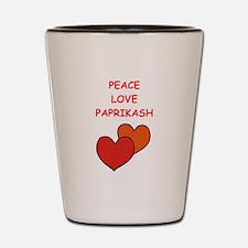paprikash Shot Glass