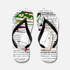 Love of Reading Flip Flops
