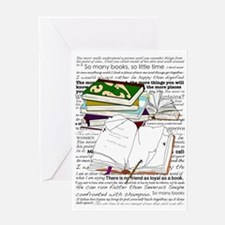 Love of Reading Greeting Card