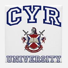 CYR University Tile Coaster