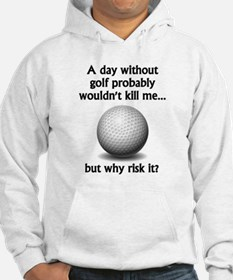 A Day Without Golf Jumper Hoody