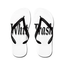 White Trash Flip Flops