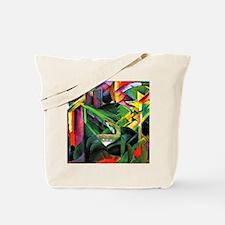 Franz Marc: Deer in a Monastery Garden Tote Bag