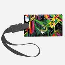 Franz Marc: Deer in a Monastery  Luggage Tag