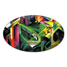 Franz Marc: Deer in a Monastery Gar Decal