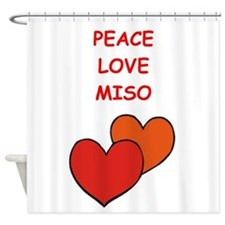 miso Shower Curtain