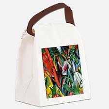 Franz Marc art: In the Rain Canvas Lunch Bag