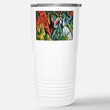 Franz Marc art: In the Rain Travel Mug