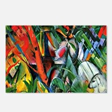 Franz Marc art: In the Ra Postcards (Package of 8)