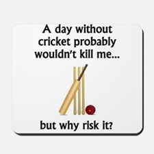 A Day Without Cricket Mousepad