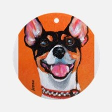 Rickie Roo by Terry Stanley Ornament (Round)