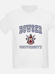 BOWSER University Kids T-Shirt