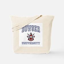 BOWSER University Tote Bag