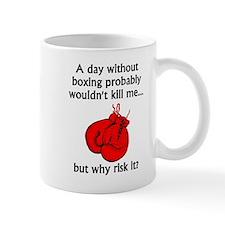 A Day Without Boxing Mugs