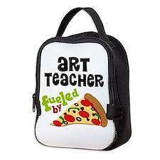 Art teacher Neoprene Lunch Bag