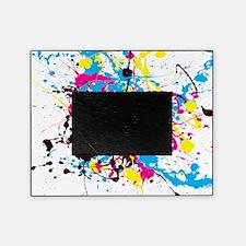 CMYK Splatter Picture Frame