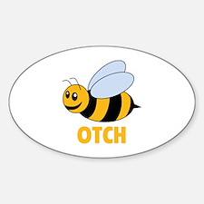 Bee Otch Decal