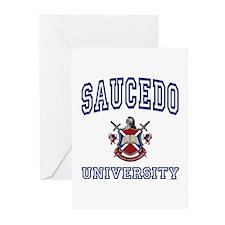 SAUCEDO University Greeting Cards (Pk of 10)