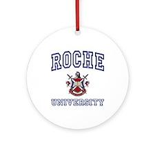 ROCHE University Ornament (Round)
