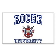 ROCHE University Rectangle Decal