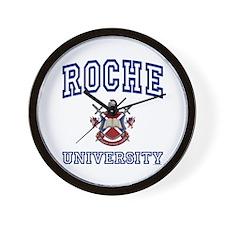 ROCHE University Wall Clock